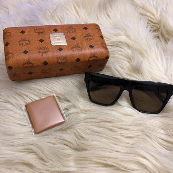 e98866c5ef39c MCM Women s Retro Acetate Frame Sunglasses